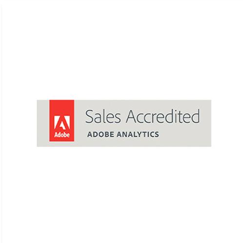 ícone certificação adobe analytics