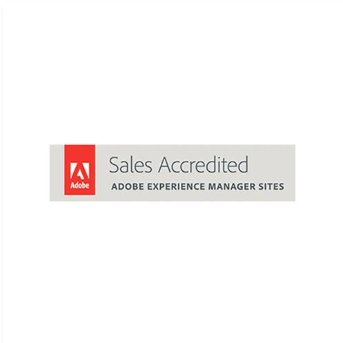 ícone certificação adobe experience manager sites
