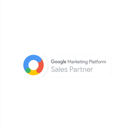 ícone certificação google marketing platform