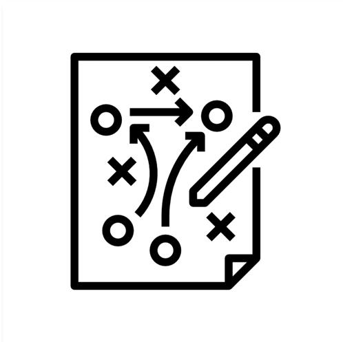 ícone governança de dados
