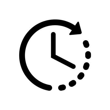 ícone menor tempo em análise de dados