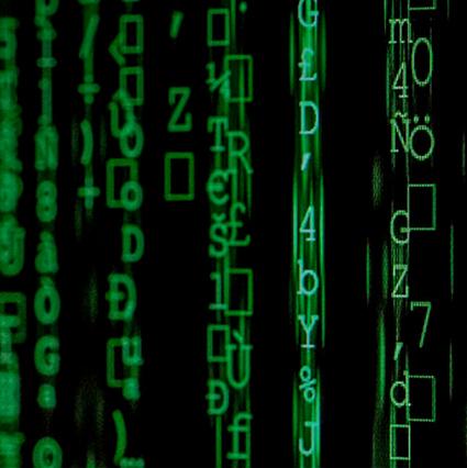 representação do poder dos dados no mundo