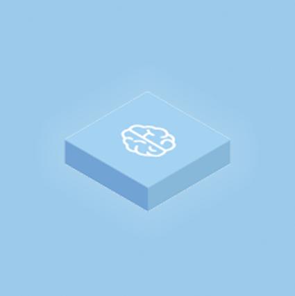 ícone cruzamento de dados em Domo