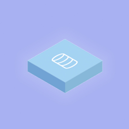 ícone ETL simples