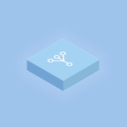 ícone conectores de dados Domo